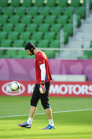 Petr Cech's national team didn't make it to butting matches