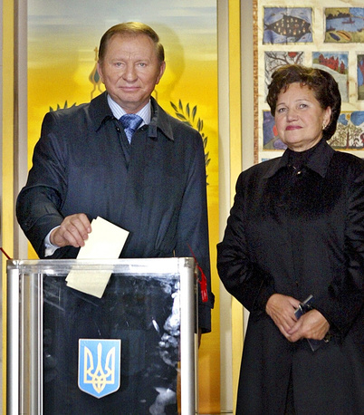 Lyudmila Kuchma is the wife of Ukraine's second president Leonid Kuchma.