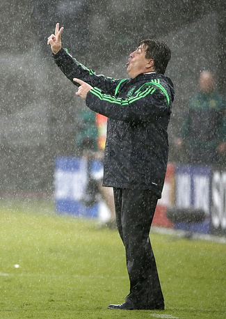 Mexico national team coach Miguel Herrera