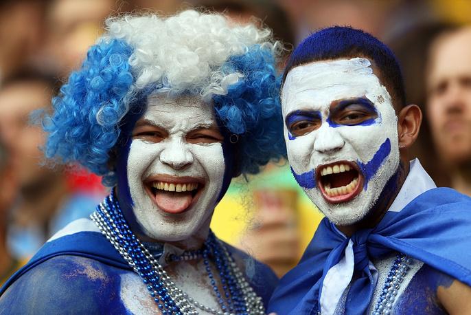 Honduras supporters