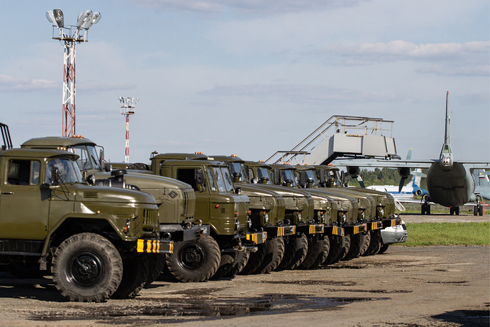 Combat readiness check in the Central Military District in June 2014