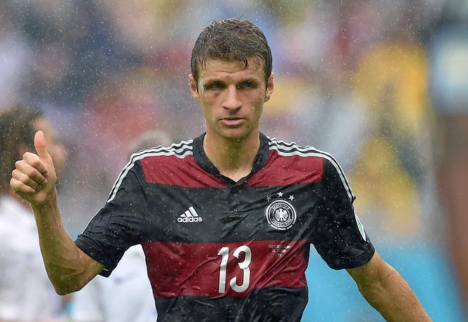 Germany's Thomas Mueller