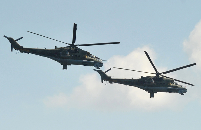Mi-6 helicopters