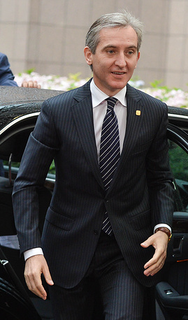 Prime Minister of Moldova Iurie Leanca arrives at the summit