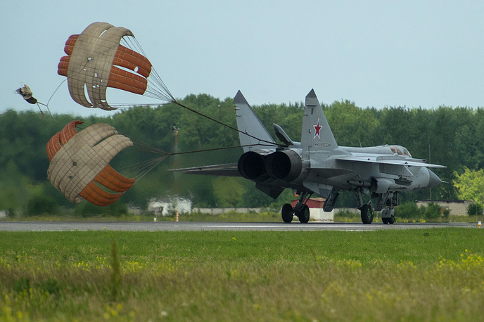 Supersonic interceptor aircraft Mikoyan MiG-31
