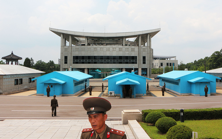 The Demilitarized Zone  serves as a buffer zone between North and South Korea. It runs along the 38th parallel north. The zone is 241 kilometers long and 4 kilometers wide