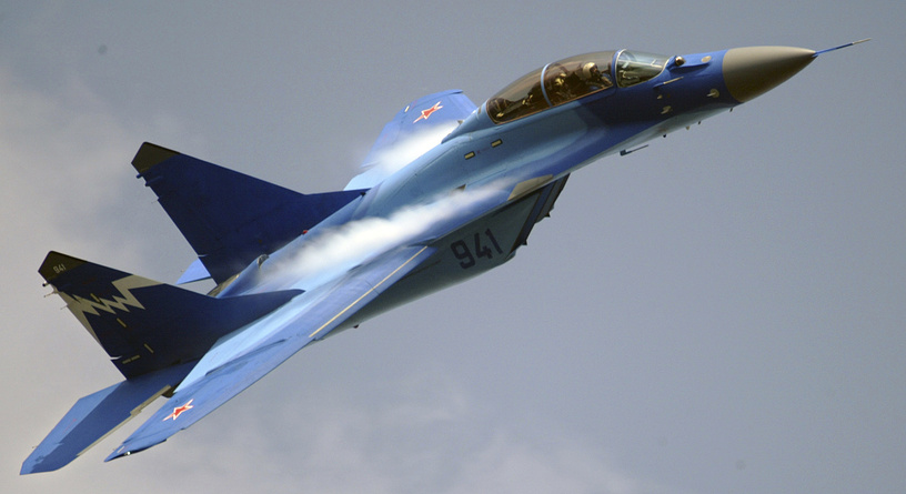 All-weather carrier-based multirole fighter aircraft MiG-29K