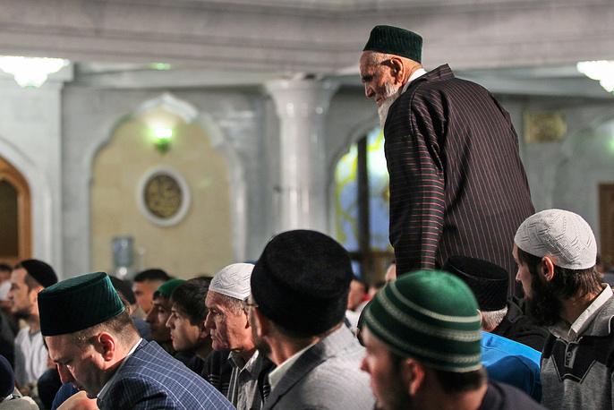 Eid al-Fitr celebration in Kazan