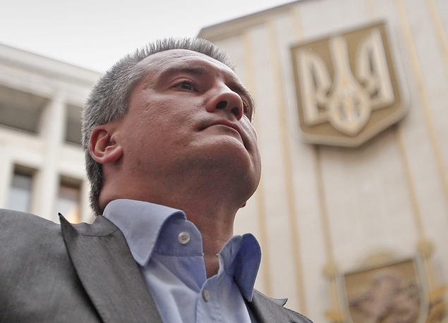 "Crimea's acting head Sergey Aksyonov: ""Luckily, Crimean enterprises will not suffer under these sanctions as they weren't trading with western countries. There is no direct economic impact."""