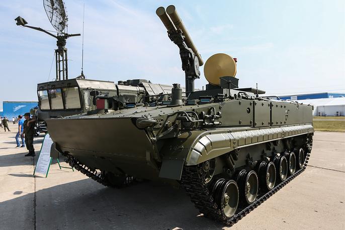 Khrizantema self-propelled antitank missile system