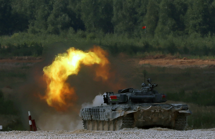Tank biathlon world championship