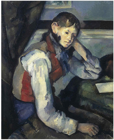 Paul Cezanne's 'The boy in the red West' and Edgar Degas' 'Count Lepic and His Daughters' were never found