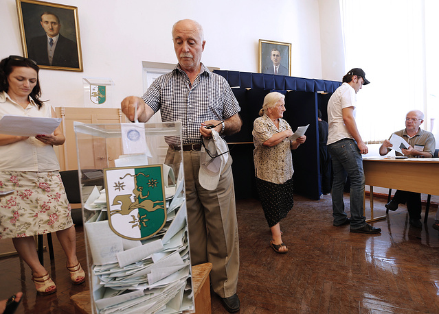 Early presidential election in Abkhazia