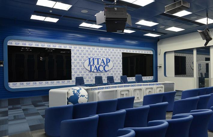 ITAR-TASS pressroom in 2014