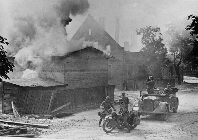 German troops in Poland, September 1939