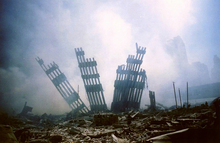 The total number of victims of the September 11 attacks except the terrorists and including the people missing amounted to 3,010