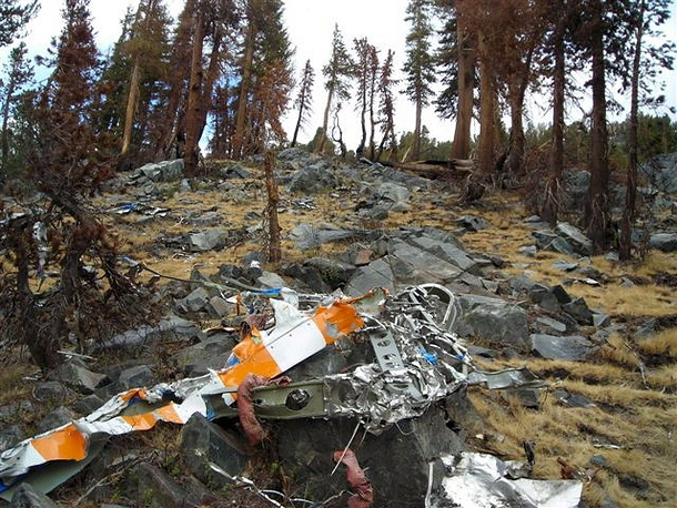 Over a year after the millionaire pilot vanished on a solo flight wrecked airplane belonging to Steve Fossett were found in California's rugged Sierra Nevada, USA. The aircraft appeared to have hit the mountainside head-on