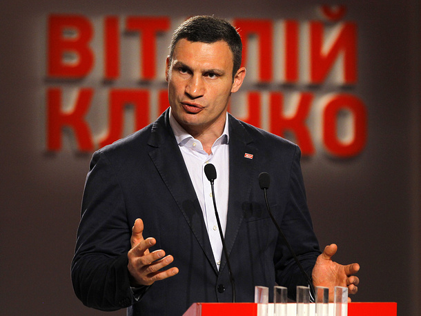 Vitaly Klitschko,  leader of the UDAR party