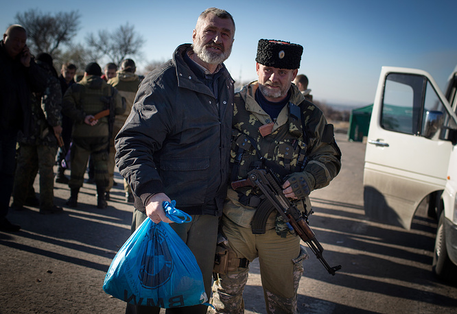Five exchanges have taken place so far in the self-proclaimed Donetsk People's Republic