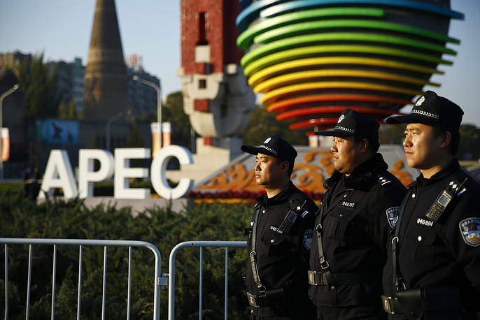 The Asia-Pacific Economic Cooperation (APEC) 2014 summit and related meetings held in Beijing from 05 to 11 November, gathering leaders of 21 member economies