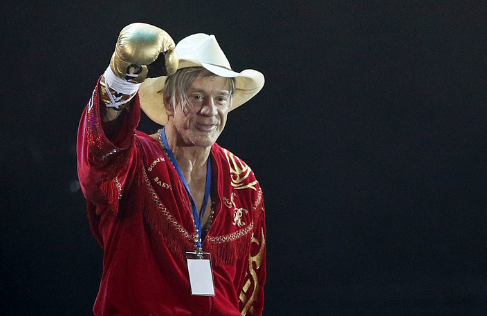 It was the first professional boxing match for him since 1994