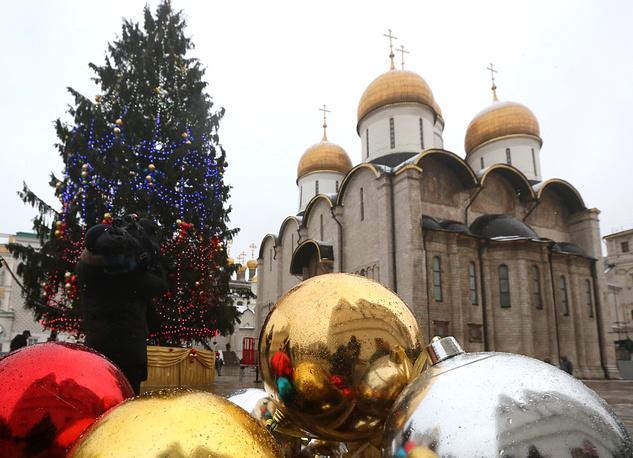5.5 thousand childen will visit Kremlin for New Year celebration on December 26