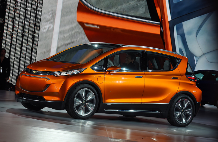 Chevrolet Bolt EV concept vehicle