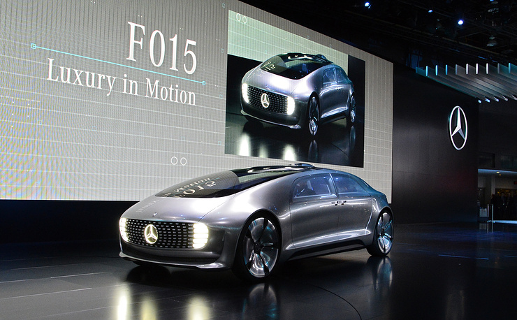 New Mercedes F015 concept car