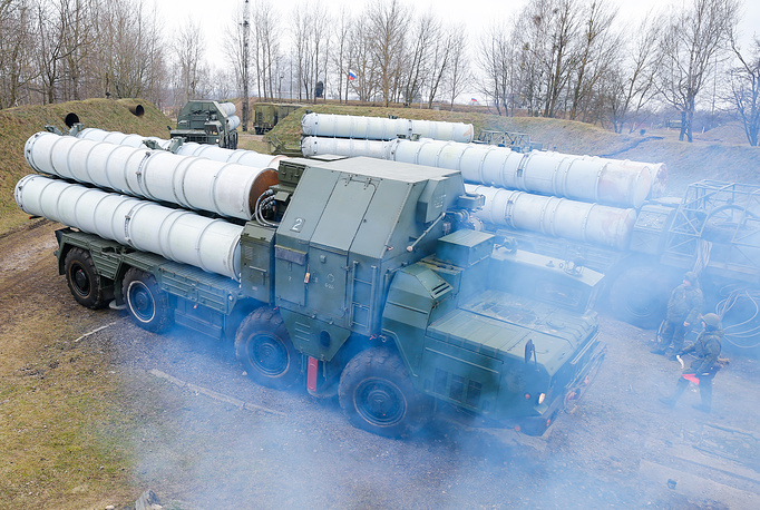 S-300 surface-to-air missile systems