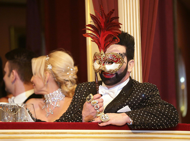 Photo: German designer Harald Gloeoeckler at Vienna State Opera