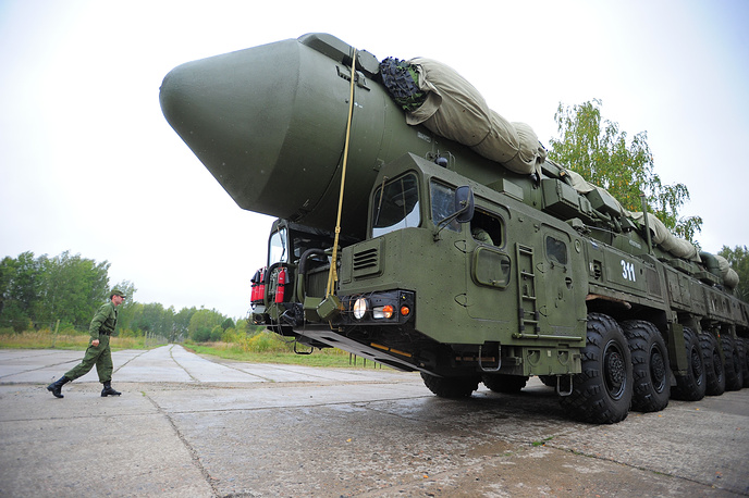 RS-24 Yars missile is a solid-fuel intercontinental ballistic missile with a multiple warhead. It can be both silo-and mobile-based