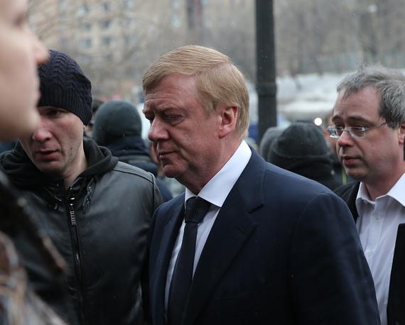 RUSNANO chairman of the Executive Board, Anatoly Chubais