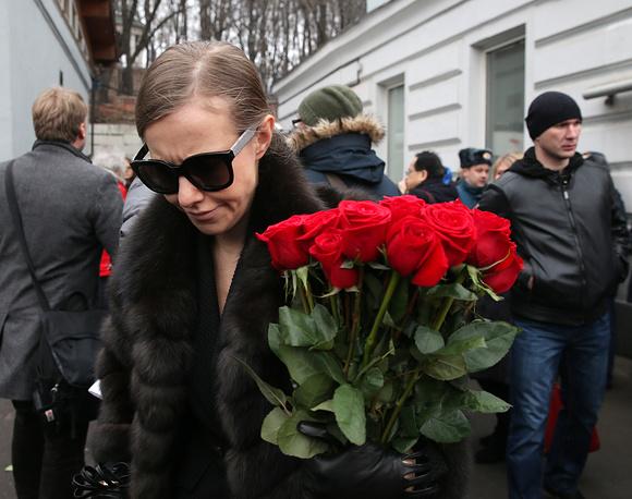 Russian TV presenter Ksenia Sobchak