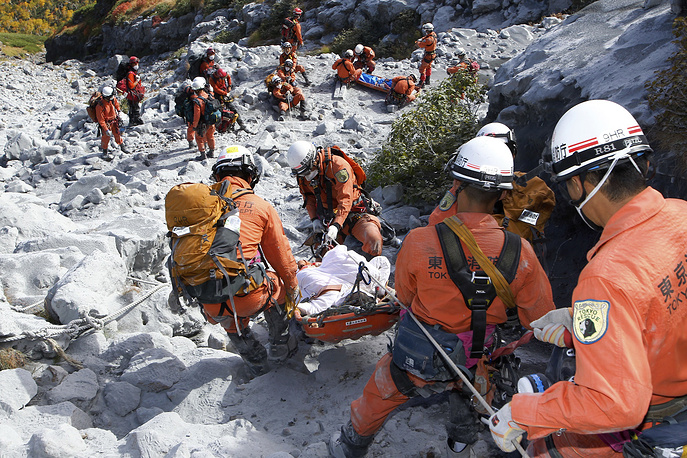 2014 Mount Ontake eruption killed 57 people. It became the first fatal volcanic eruption in Japan since the 1991