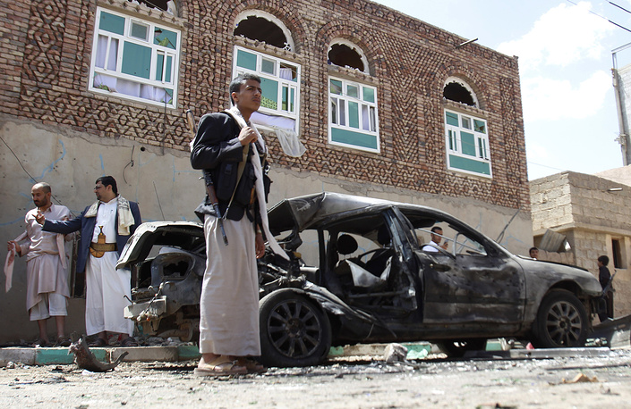 The IS gunmen claimed responsibility for the recent attacks on two mosques in Sana that killed more than 100 people