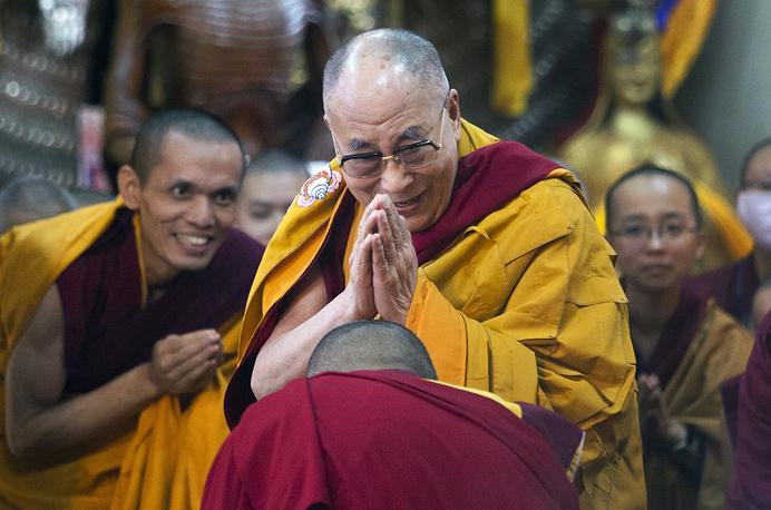 7. Tibetan spiritual leader the Dalai Lama. 1.7% of the votes