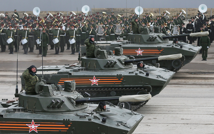 BMD-4M airborne assault vehicles