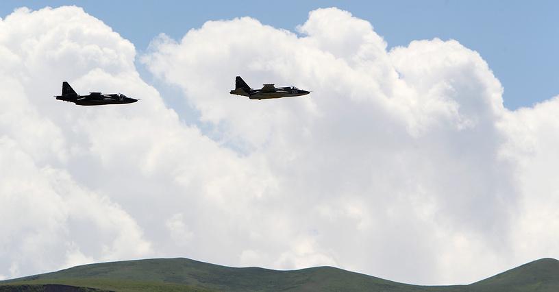 Kyrgyz-Russian military drills