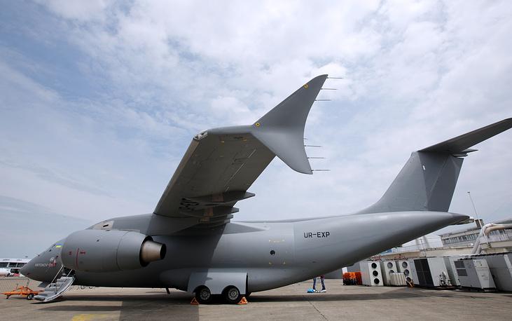 Antonov An-148 aircraft