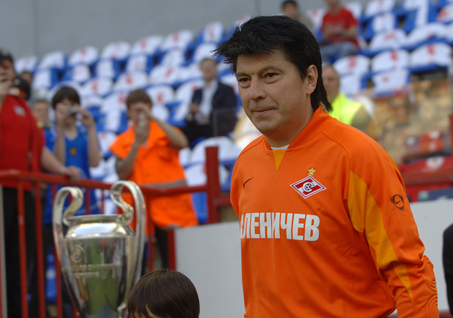 The former goalkeeper of the USSR national team, silver medalist of the 1988 European Championship Rinat Dasaev
