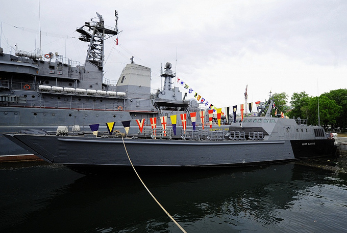 Ivan Kartsov is a newest project 21820 landing craft