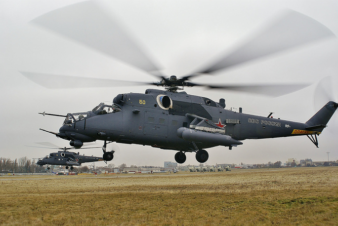 Multirole Mi-35M attack helicopter is a comprehensive modernisation of the Mi-24V. It is operated by the Armed Forces of Russia, Venezuela, Brazil and Azerbaijan
