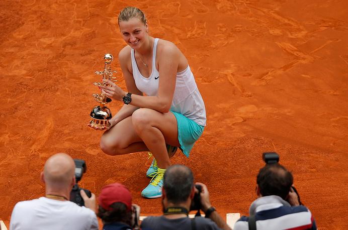 Czech Petra Kvitova ($7.7 million)