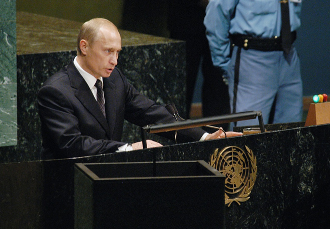 Russian President Vladimir Putin spoke more times at the United Nations than any other Russian leader. This year he will be addressing the General Assembly for the fourth time