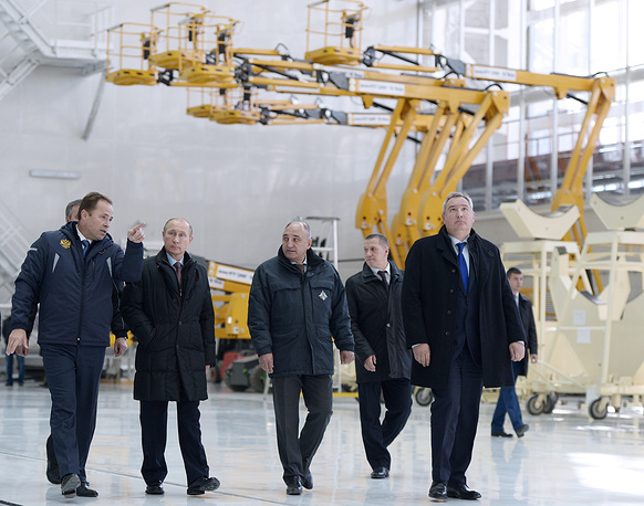 Earlier Russian president visited Vostochny in September 2014, drawing attention to the fact that construction work was lagging behind the schedule