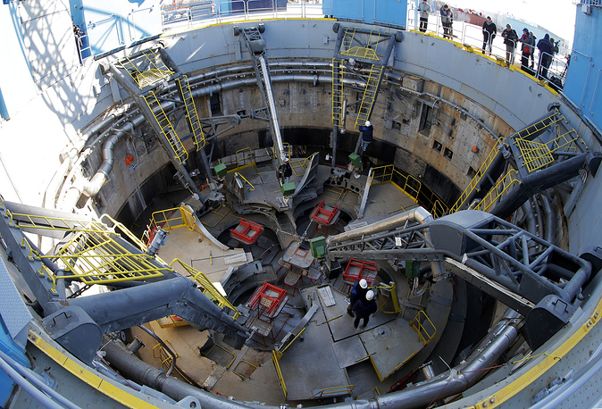 Construction works at the cosmodrome were said to be completed on November 30, 2015