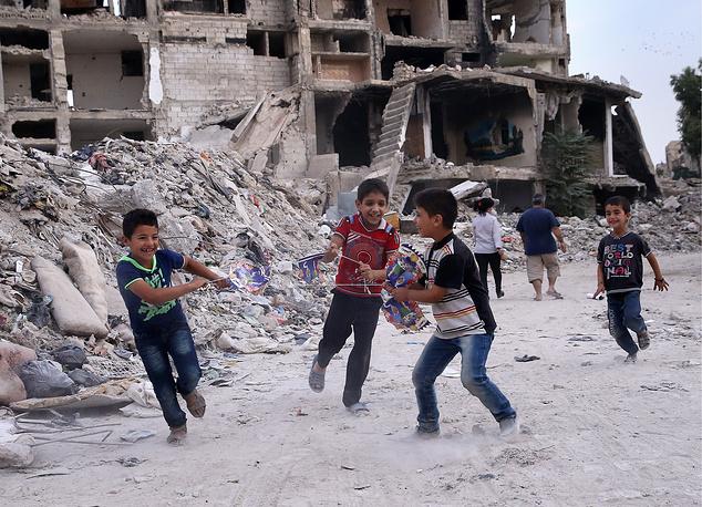 Dahaniya neighborhood of Damascus