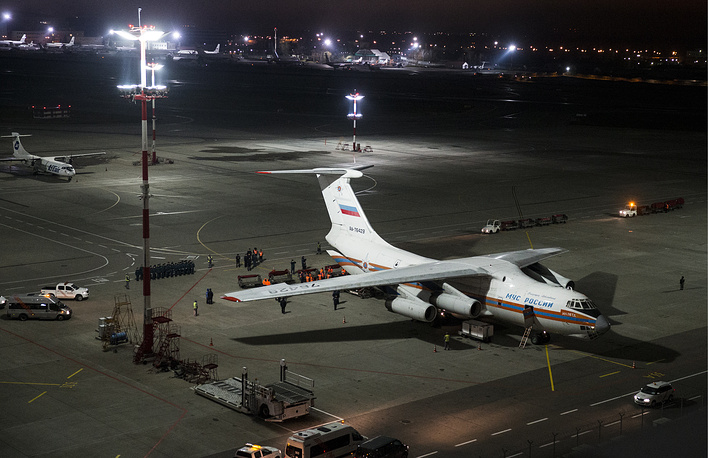 Russian tourists leaving Egypt are allowed to take only cabin baggage, the rest of their luggage is being delivered to Moscow by Russian cargo planes