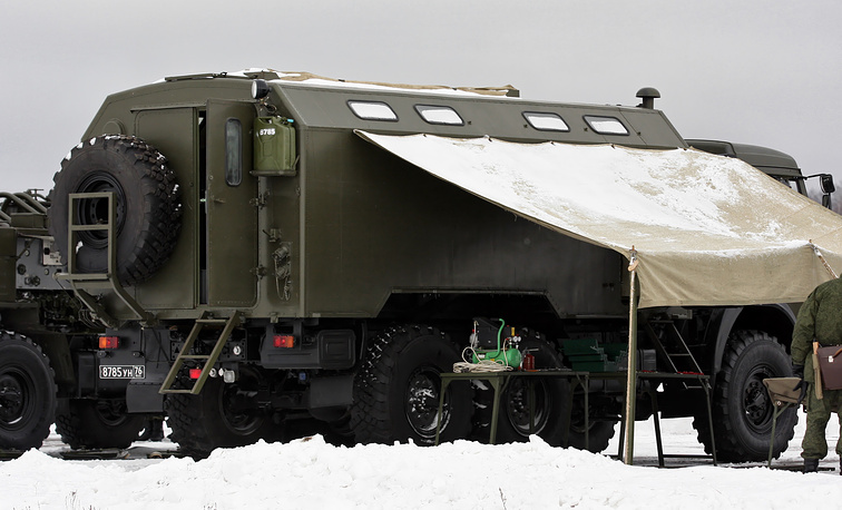 CBRN Protection Troops mobile repair shop PM RKhBZ-1