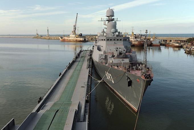 Dagestan missile carrier ship